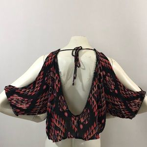 """Urban Outfitters """"Ecotè"""" Exposed Arm Top Sz M"""